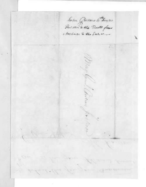John Gordon to Andrew Jackson, June 4, 1816