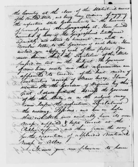 John Melish to Thomas Jefferson, November 23, 1816