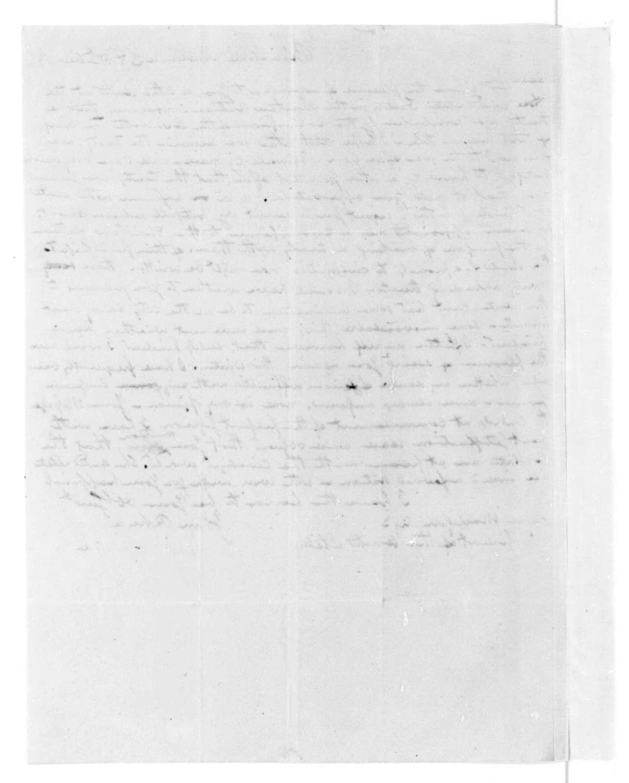 John Rhea to James Madison, December 31, 1816.