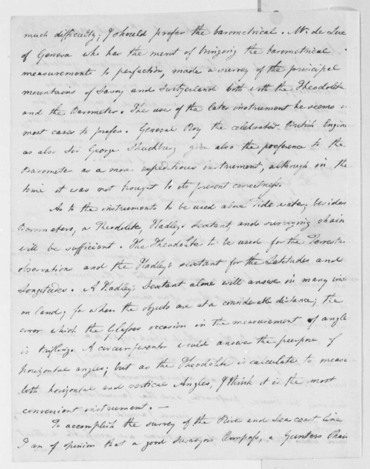 John Wood to Thomas Jefferson, April 6, 1816