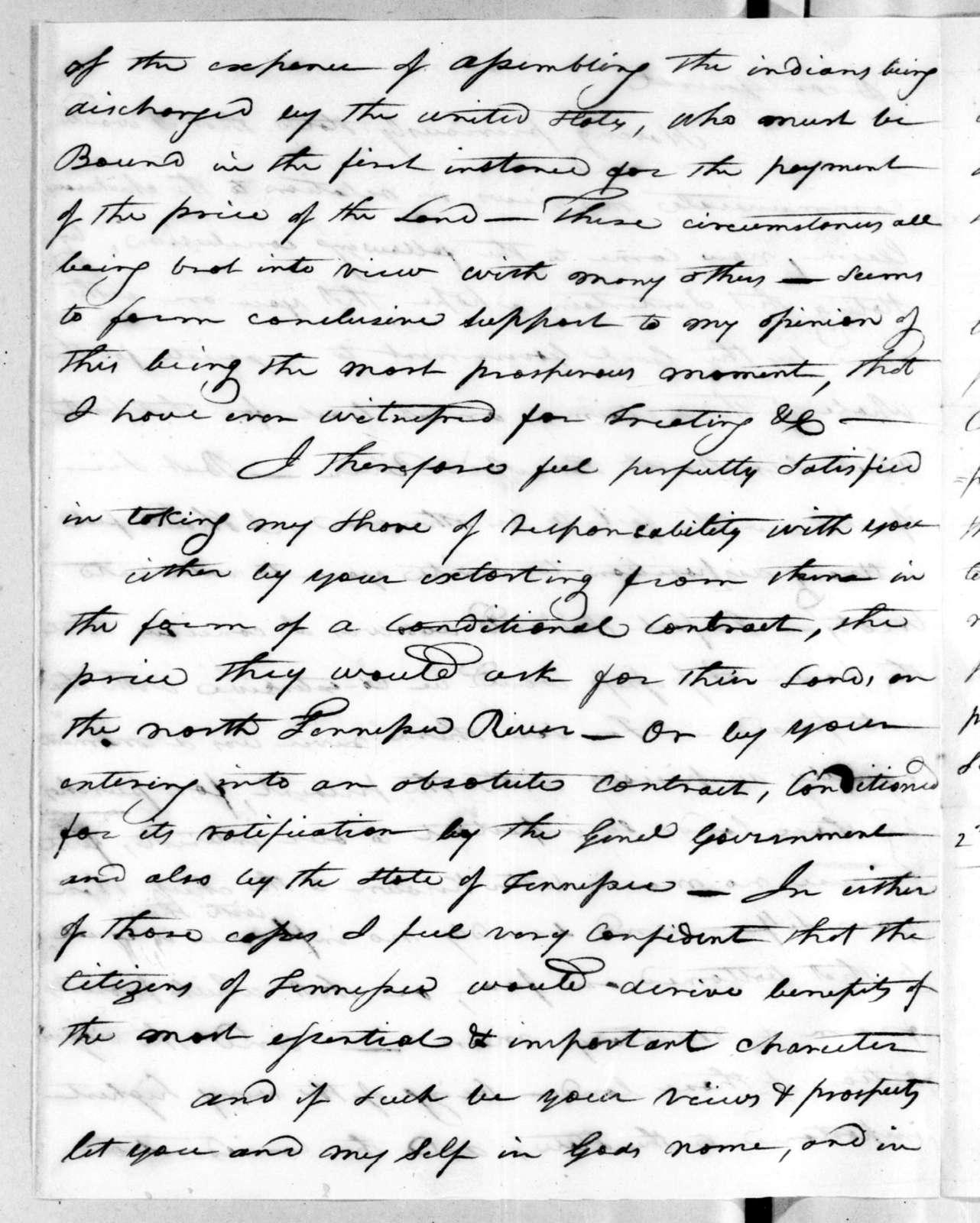 Joseph McMinn, September 2, 1816