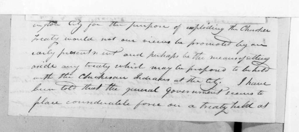 Joseph McMinn to Andrew Jackson, May 27, 1816