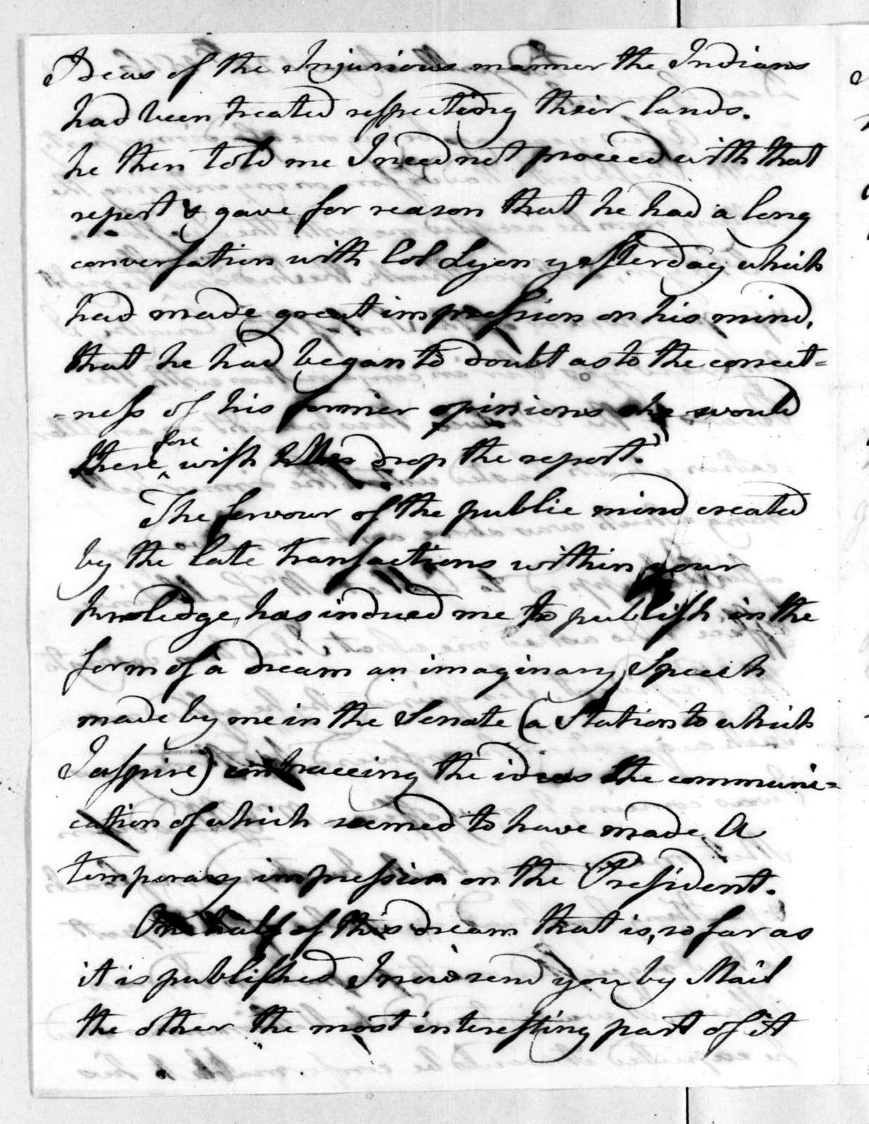 Matthew Lyon to Andrew Jackson, August 26, 1816