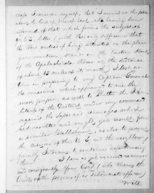 Mauricio de Zuñiga to Andrew Jackson, May 26, 1816