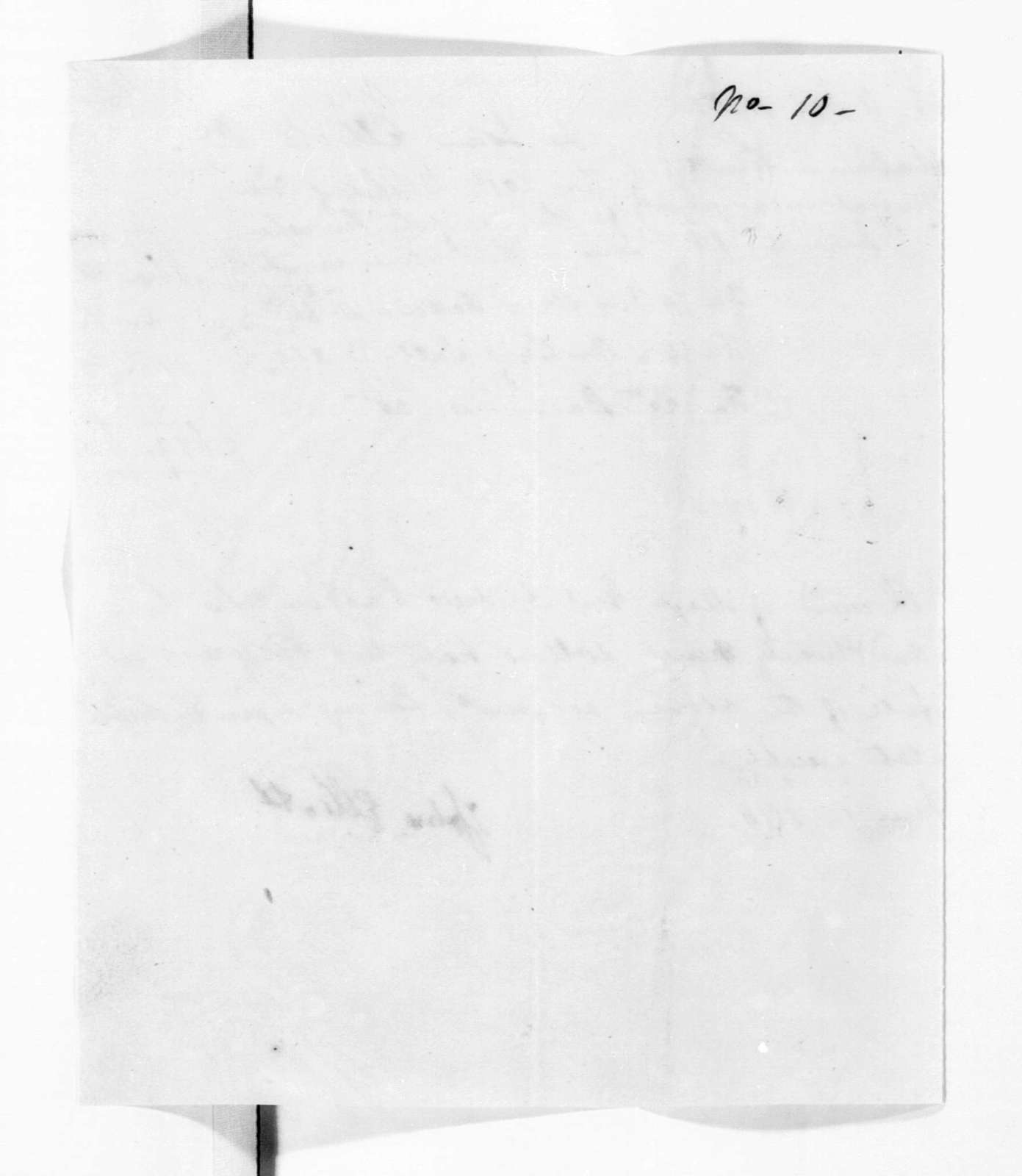 Military Papers - December 18, 1816 - June 30, 1818, Vol. X