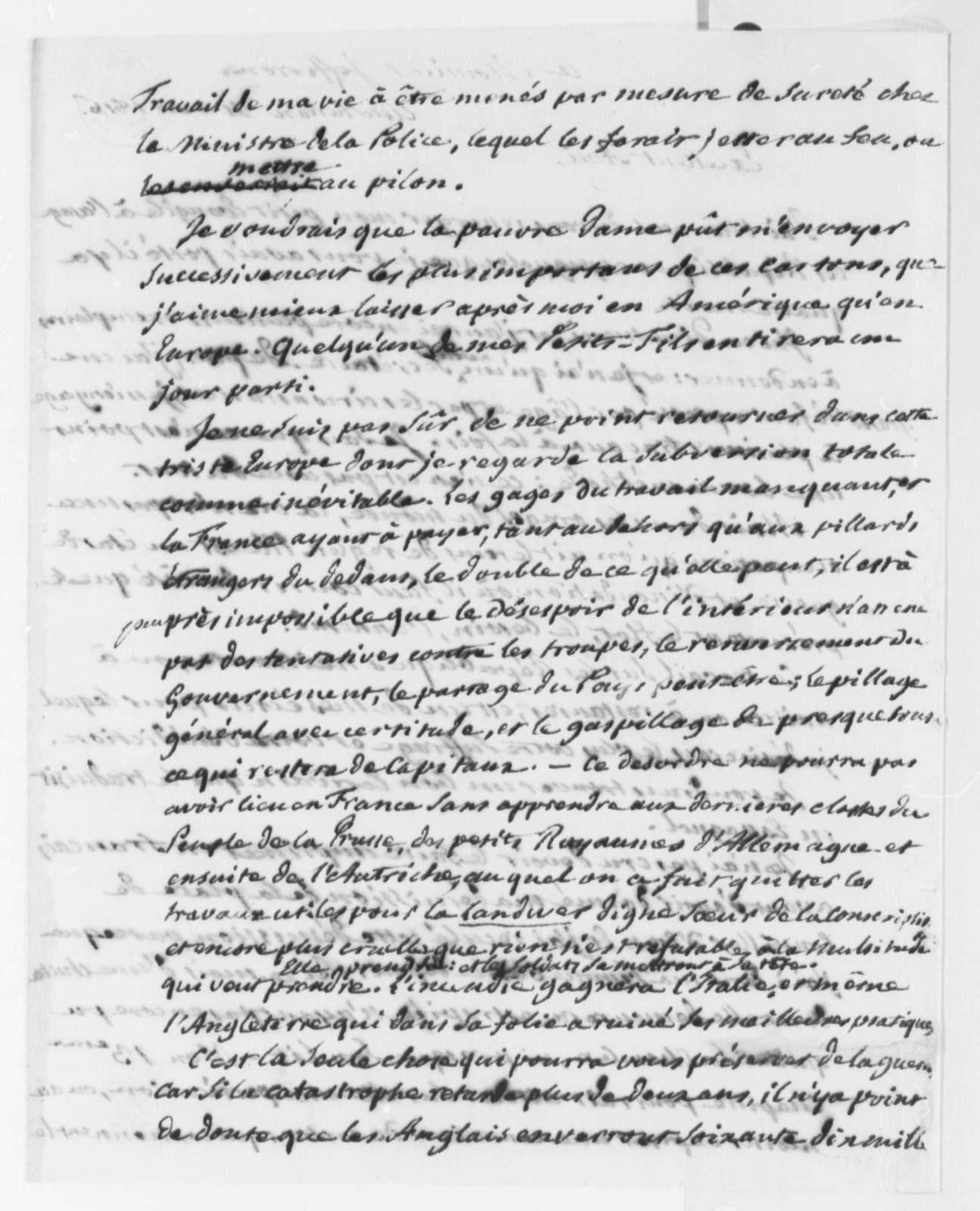 Pierre S. Dupont de Nemours to Thomas Jefferson, March 31, 1816