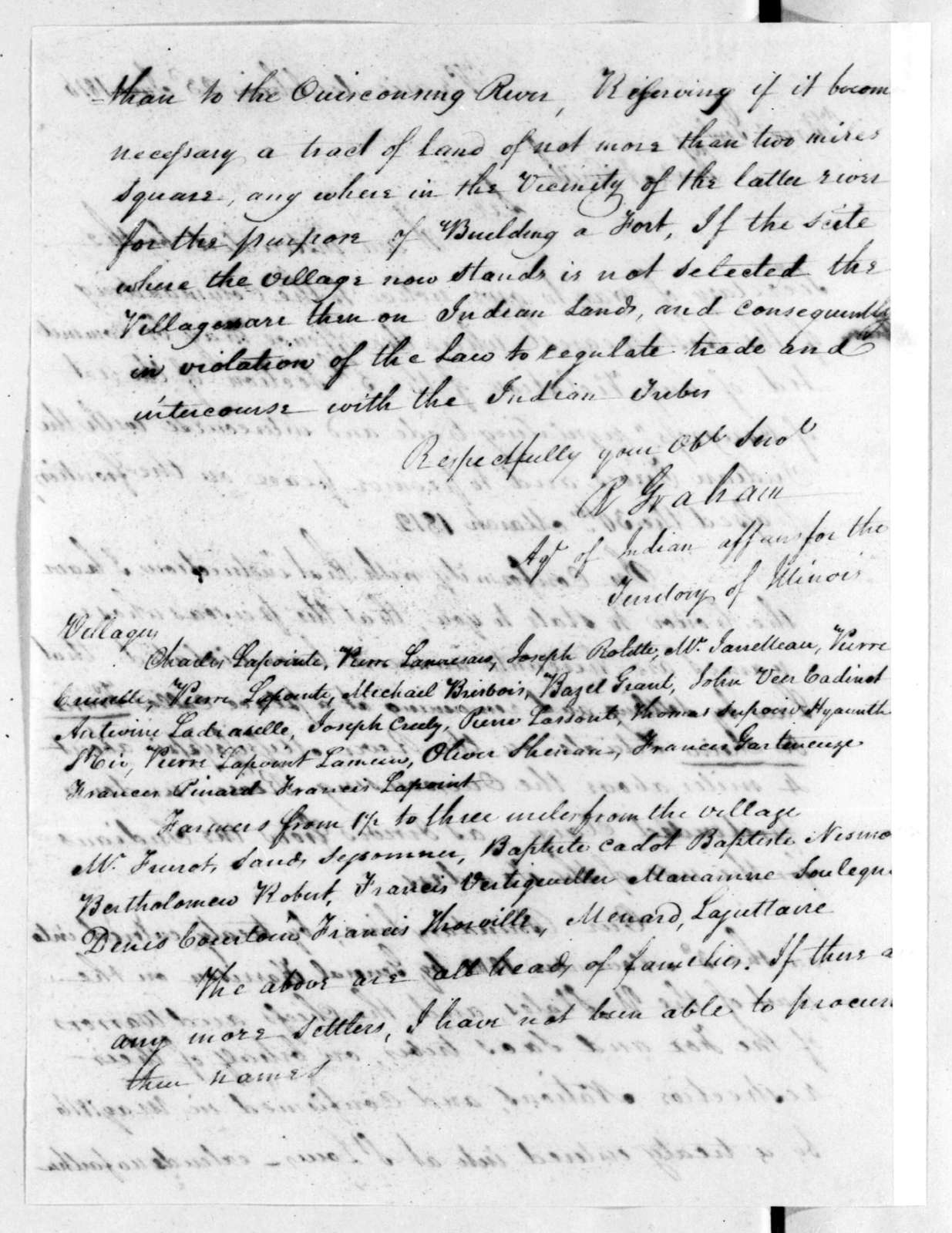 Richard Graham to A. Smith, June 23, 1816