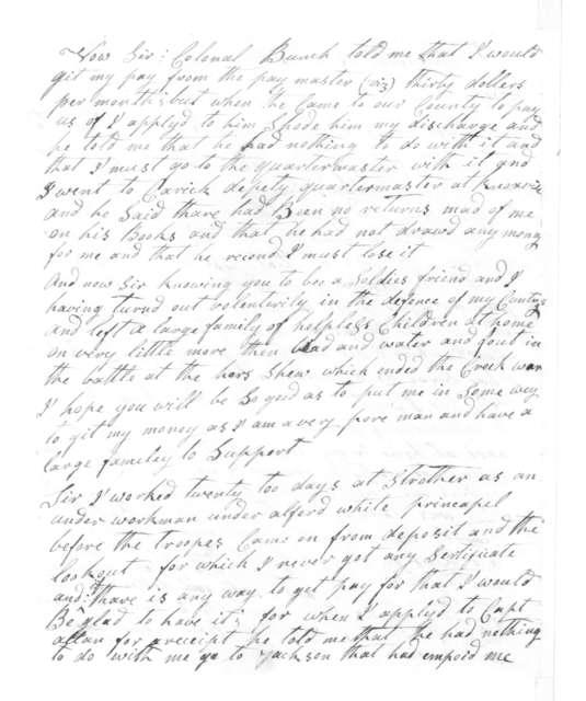 Robert Evans to Andrew Jackson, August 1, 1816