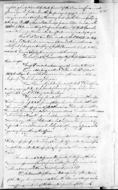 S. M. Mackay, February 5, 1816