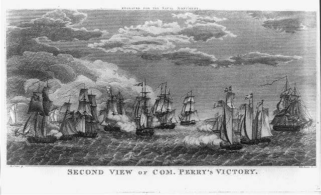Second view of Com. Perry's victory / M. Cornè p. ; W.B. Annin sc.