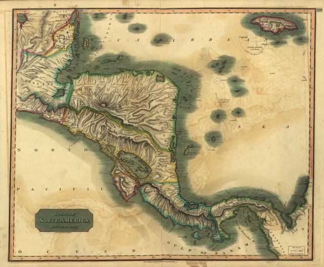 Spanish North America, southern part /