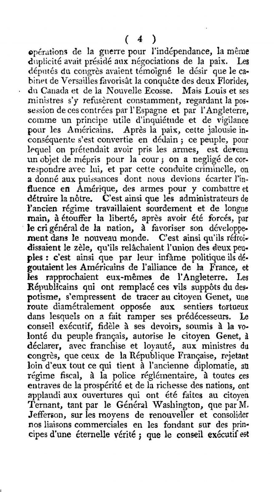 State papers relating to the diplomatick transactions between the American and French governments, from the year 1793, to the conclusion of the convention, on the 30th of September, 1800.
