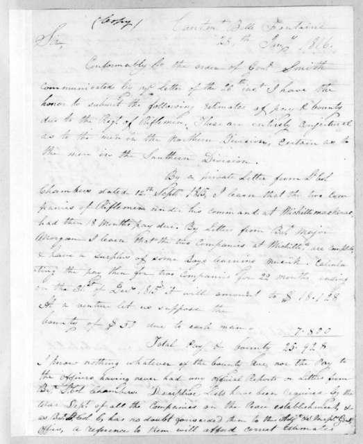 Thomas Adams Smith, January 28, 1816