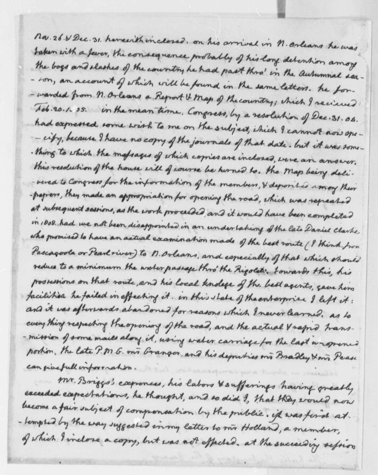 Thomas Jefferson to Alexander J. Dallas, February 26, 1816