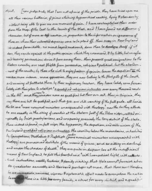 Thomas Jefferson to Horatio G. Spafford, January 10, 1816