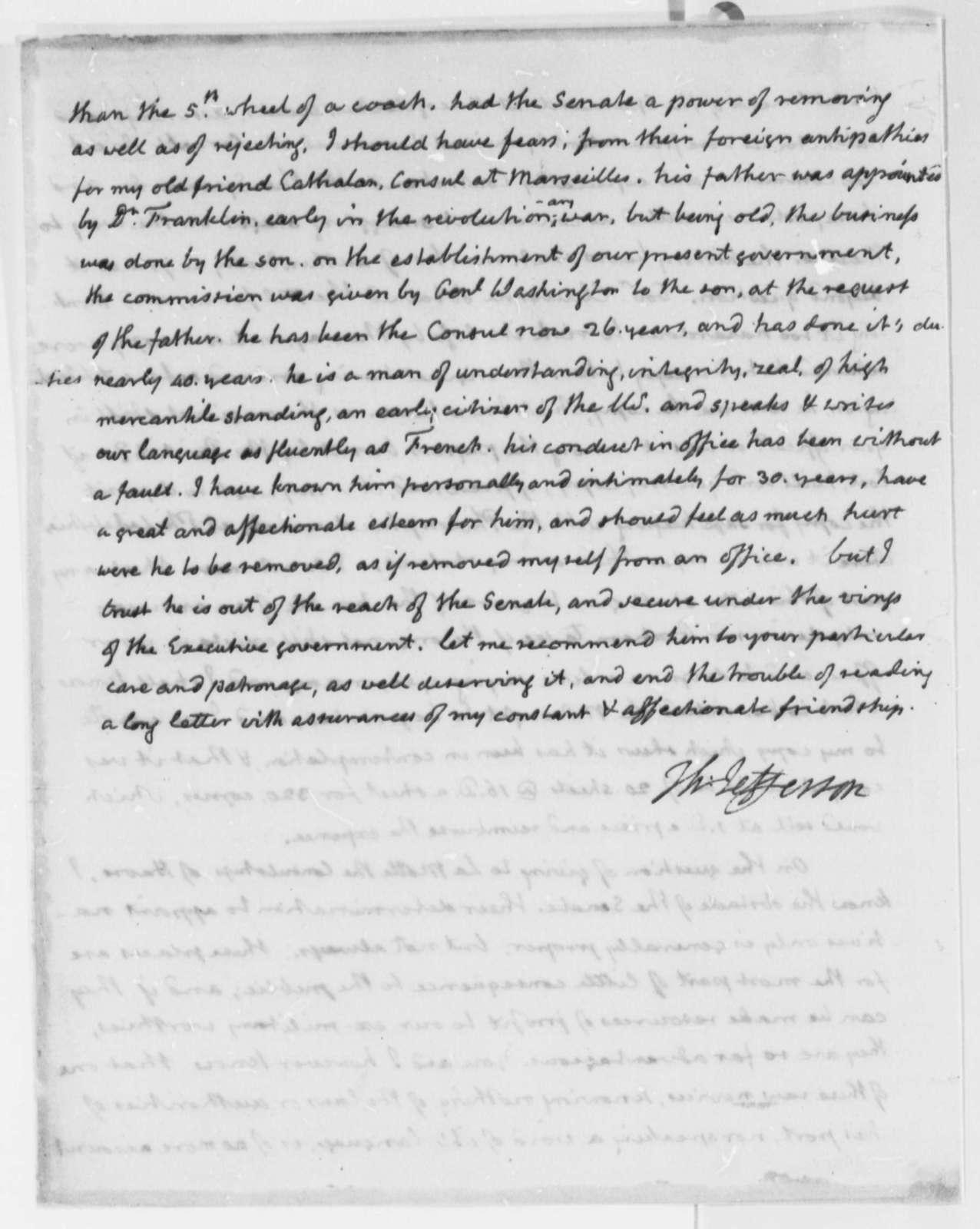 Thomas Jefferson to James Monroe, February 4, 1816