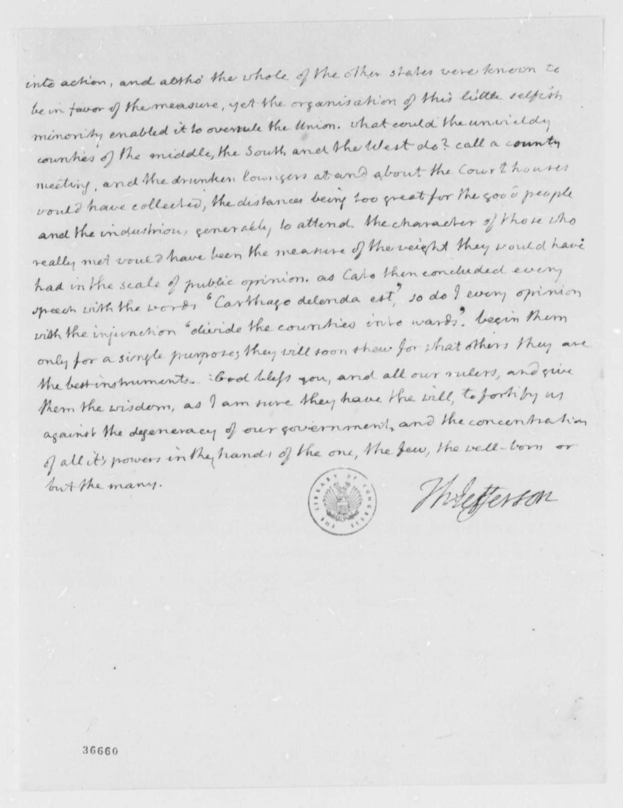 Thomas Jefferson to Joseph C. Cabell, February 2, 1816