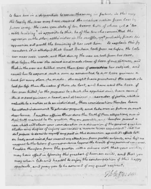 Thomas Jefferson to Noah Worcester, January 29, 1816