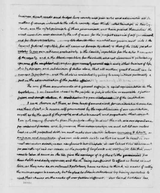 Thomas Jefferson to Samuel Kercheval, July 12, 1816