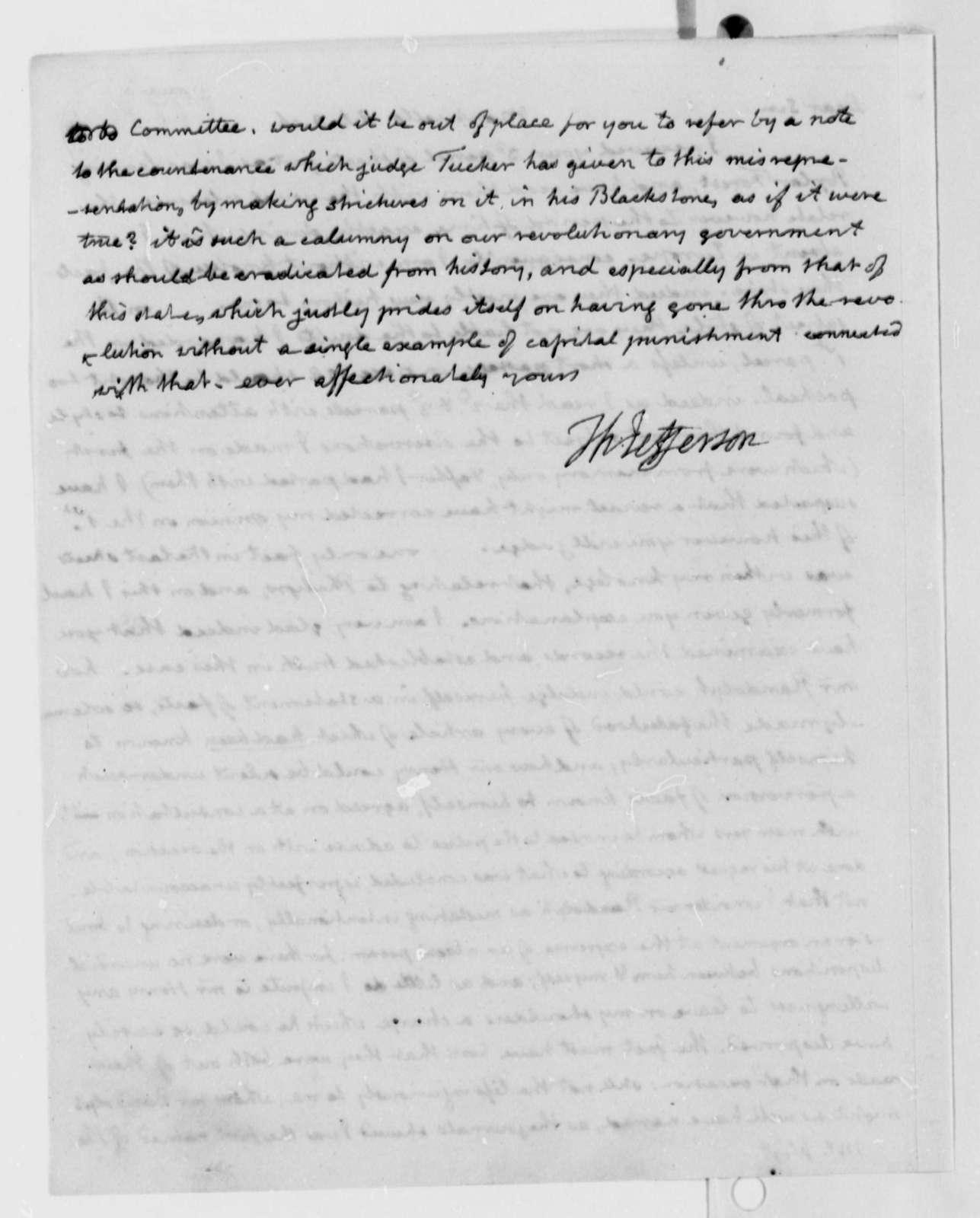 Thomas Jefferson to William Wirt, October 8, 1816