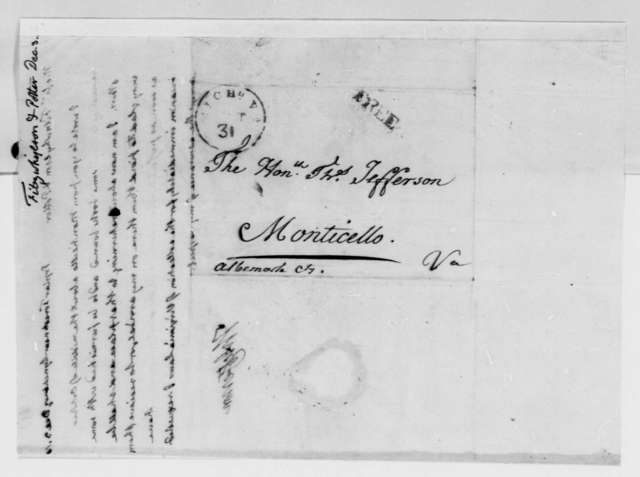 to Fitzwhylson & Potter, December 3, 1816