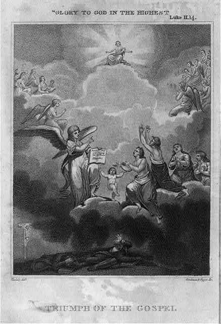 """Triumph of the gospel - """"glory to God in the highest"""""""