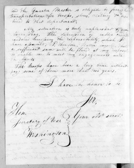 Unknown to William Harris Crawford, July 8, 1816
