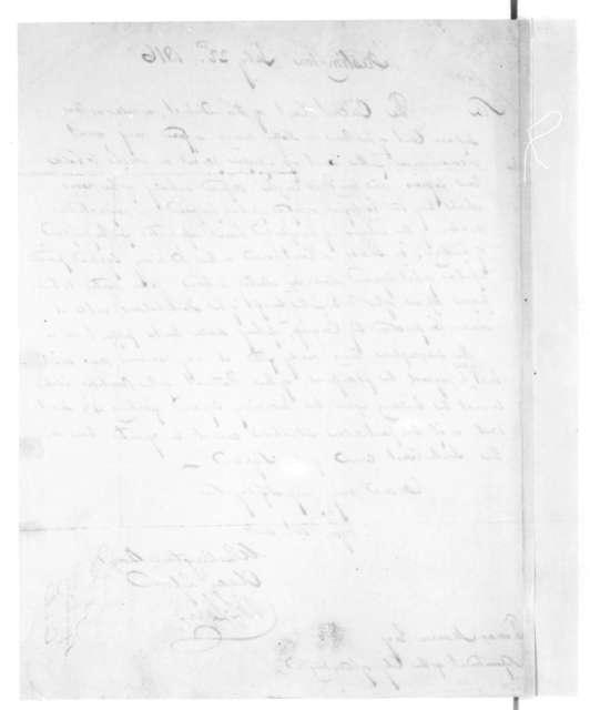 Washington Boyd to Thomas Munroe, July 22, 1816.