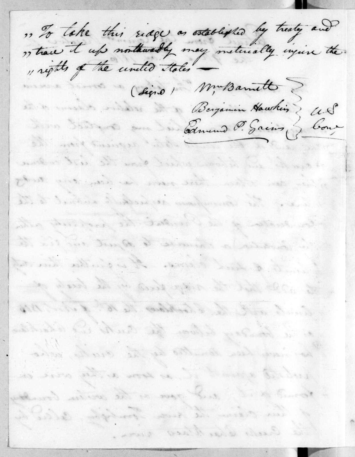 William Barnett et al., February 9, 1816