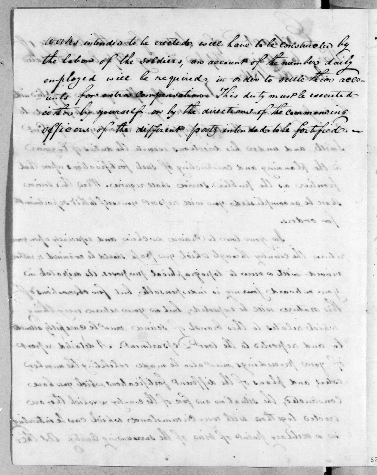 William Harris Crawford to Stephen Harriman Long, June 18, 1816