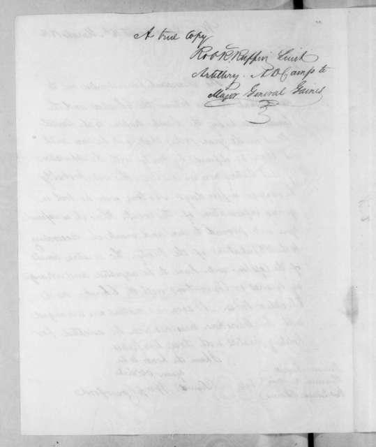 William Harris Crawford to William Barnett, March 14, 1816