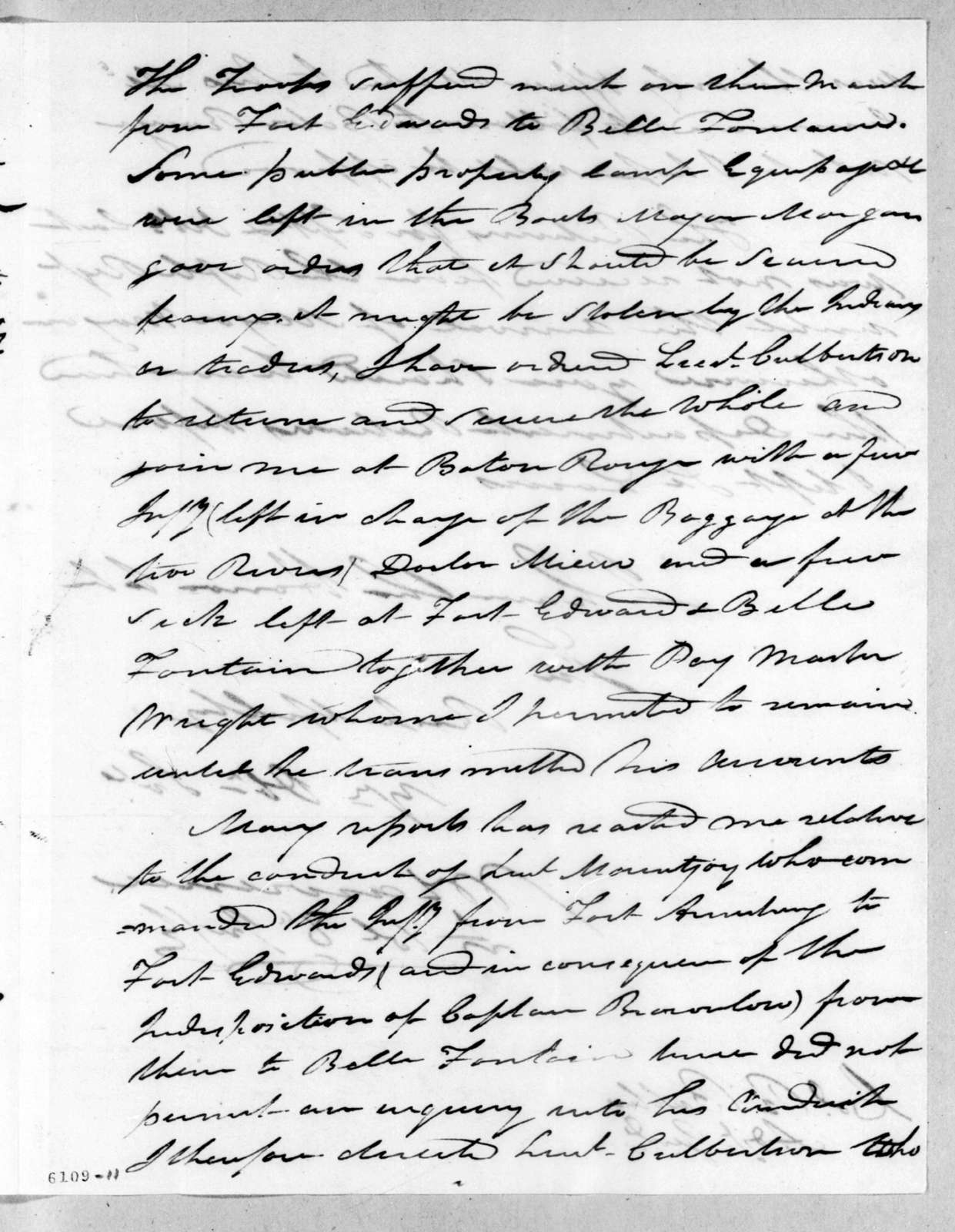 William Lawrence to Robert Butler, December 17, 1816