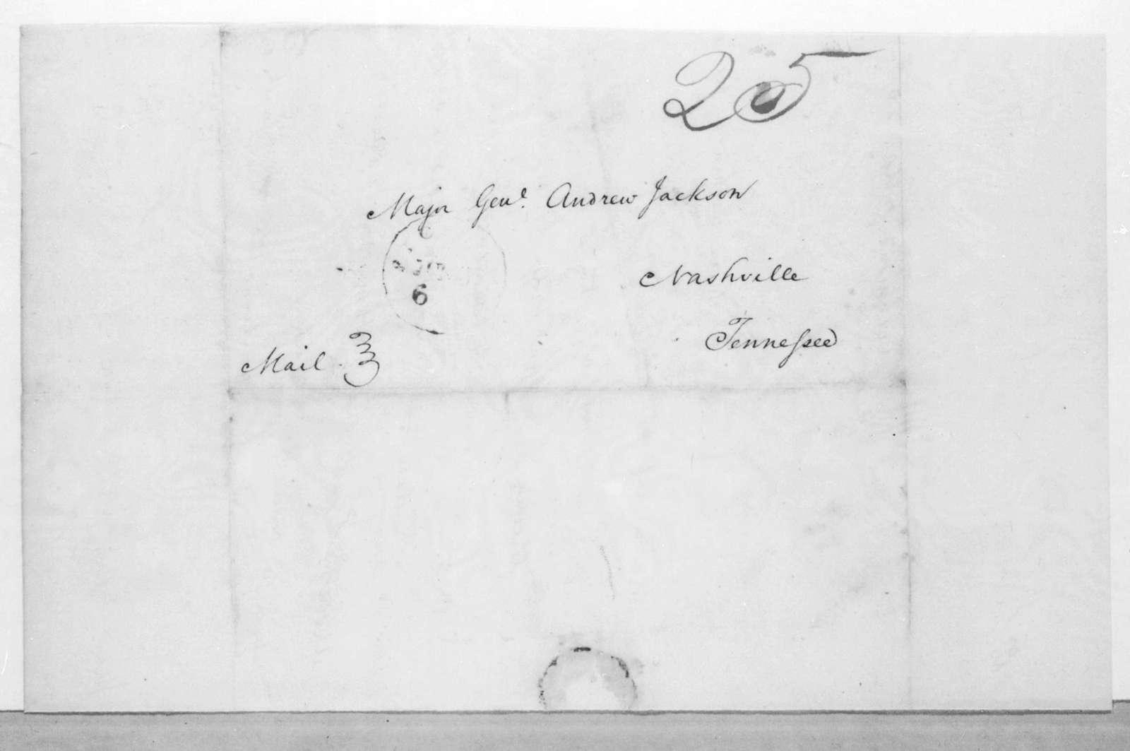 William O. Winston to Andrew Jackson, May 28, 1816