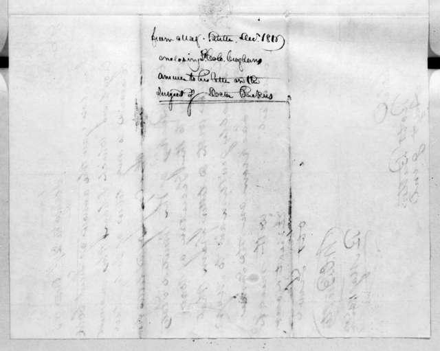 William Orlando Butler to Robert Butler, December 29, 1816