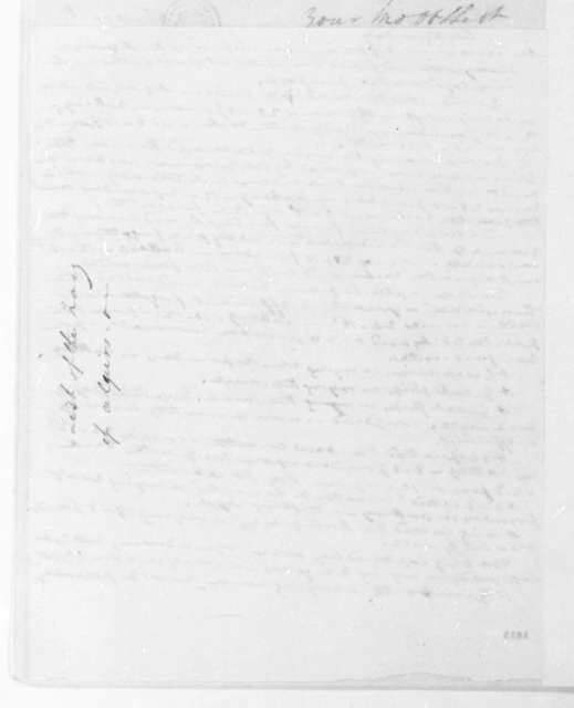 William Shaler to James Monroe, April 15, 1816. Includes list of Algerian Navy.