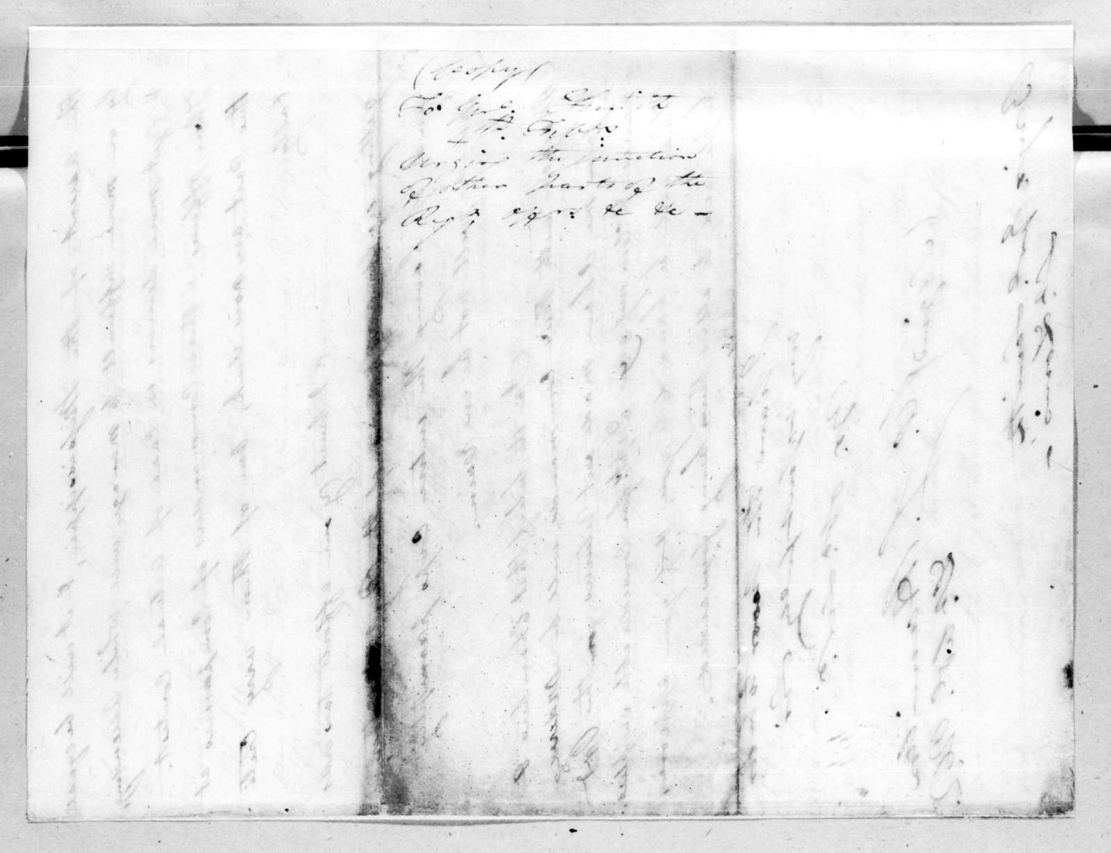 William Southerland Hamilton to Thomas Adams Smith, February 4, 1816