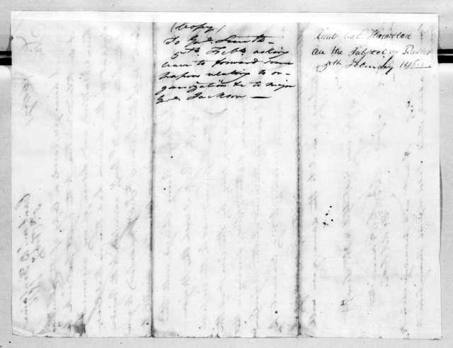 William Southerland Hamilton to Thomas Adams Smith, February 5, 1816