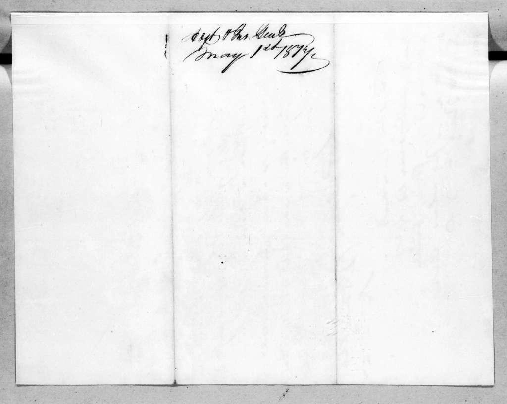 Daniel Parker, May 1, 1817