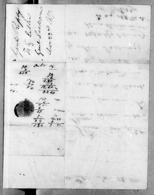 Eleazar Wheelock Ripley to Andrew Jackson, December 22, 1817