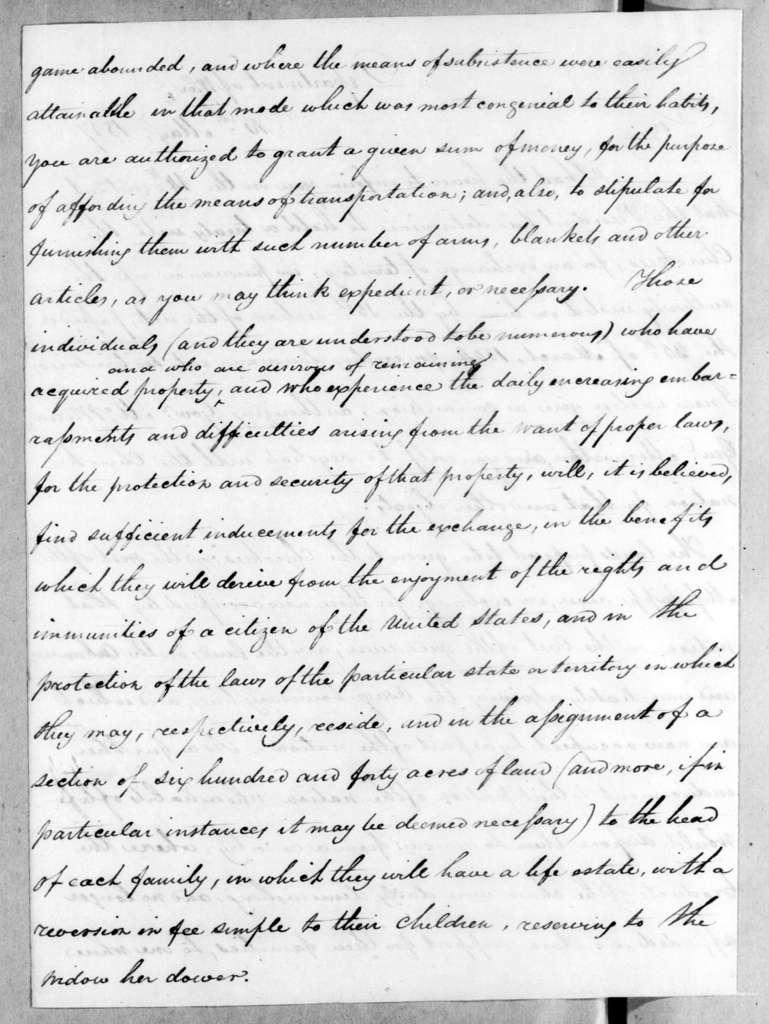 George Graham to Joseph McMinn, May 16, 1817