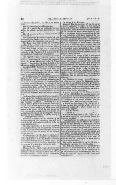 J. B. Colvin to James Madison, March, 1817. With Newspaper.