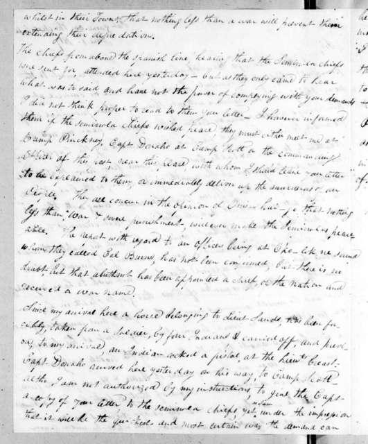 James Edward Dinkins to Edmund Pendleton Gaines, June 1, 1817