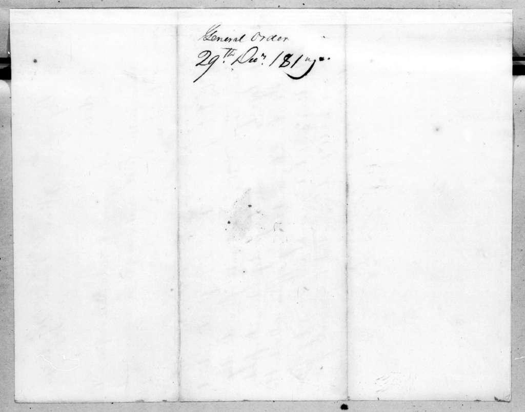 John Caldwell Calhoun, December 29, 1817
