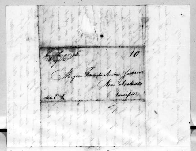 John Waller Overton to Andrew Jackson, May 4, 1817