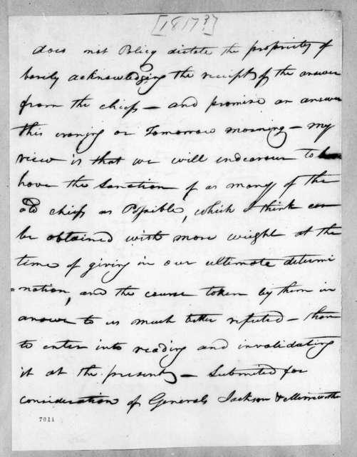 [Joseph McMinn] to Andrew Jackson & David Meriwether