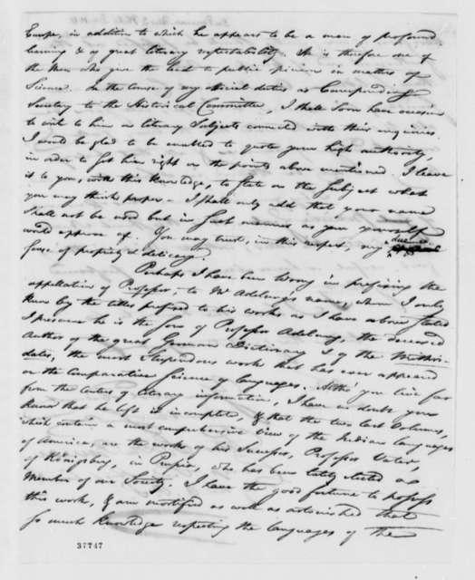 Peter S. du Ponceau to Thomas Jefferson, December 11, 1817
