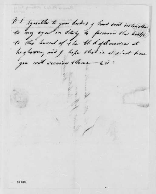 Philip Ignatius Barziza to Thomas Jefferson, February 14, 1817