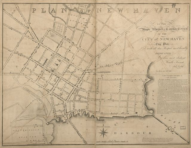 Plan of New Haven /