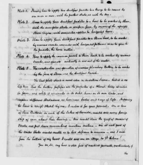 Richard Clairborne to Thomas Jefferson, July 4, 1817