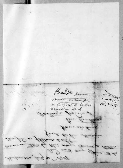 Robert Brownlee Currey to Samuel Houston, July 30, 1817